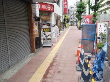 150701_蕨駅前歩道改修後