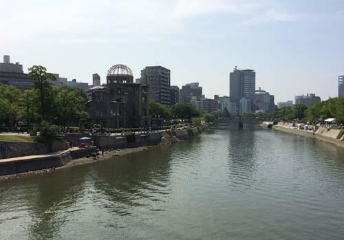 150819_原爆ドームと太田川